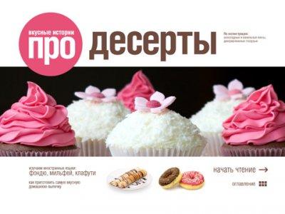 Десерты — кулинарная книга в вашем iPad