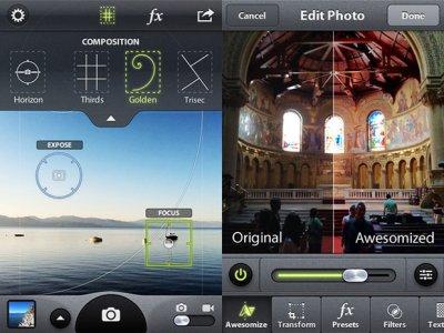 Camera Filters: фильтры для фото и видео в Вашем устройстве