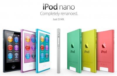 iPod nano: часы – это не модно?