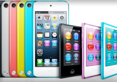 Apple в очередной раз обновила плееры Айпод nano и iPod touch