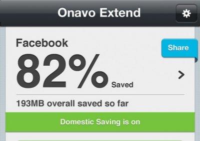 Onavo Extend — экономим мобильный трафик