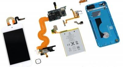 Новый iPod touch показал свои внутренности
