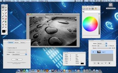 Seashore – бесплатный графический редактор (Мас)