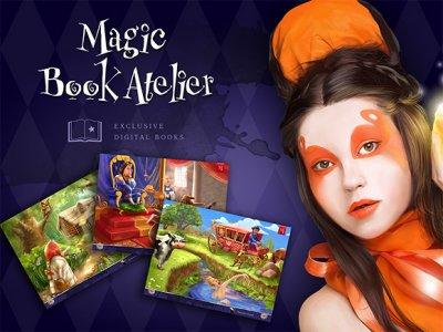 Magic Book Atelier — интерактивные сказки в вашем iPad