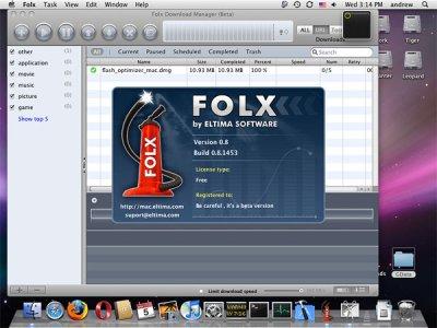 Folx Downloader – бесплатный торрент клиент и менеджер закачек для Mac OS.