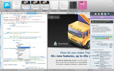 Coda-2: Редактор для Mac
