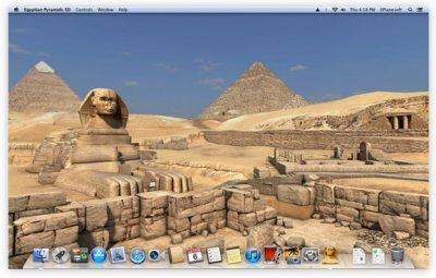 Egyptian Pyramids 3D: ожившая история на экране вашего Mac